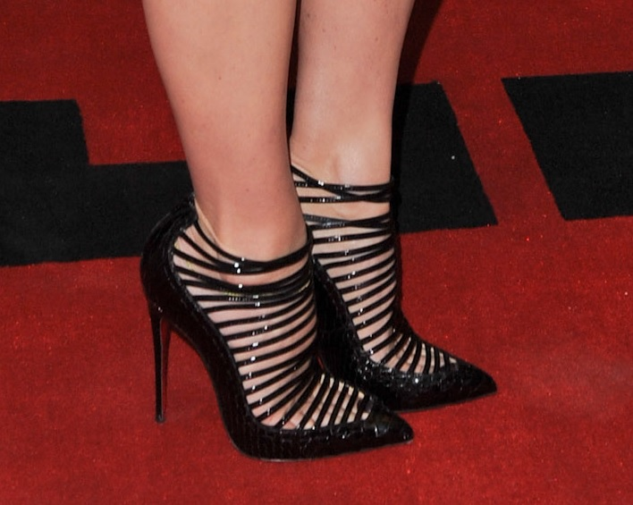 Top 10 celebrities in high heels for September