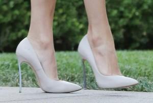 Jennifer Lopez in high heels