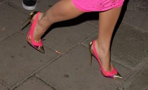 Rita Ora Halloween heels