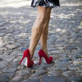 A little pain from your high heels might be good for you