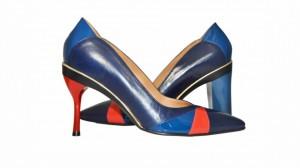Tanya Heath makes shoes with interchangable heels
