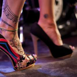 GILT shows which state is the capital of high heels