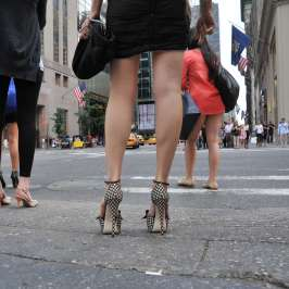 How to stand pain-free in high heels