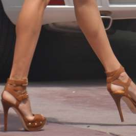 What high heels to wear if you want to look taller