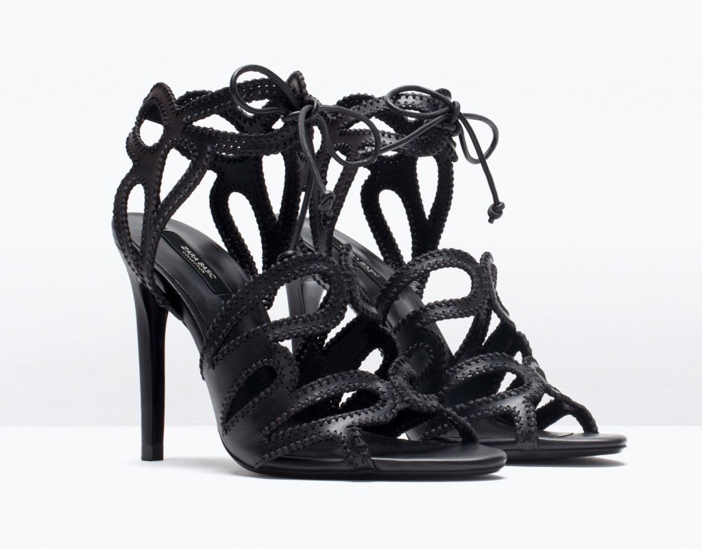 Zara wraparound sandals