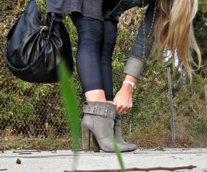 New York street stylers tips on how to wear high heels all day long