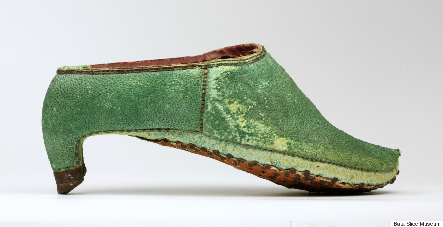 new museum exhibition shows the history of high heels for
