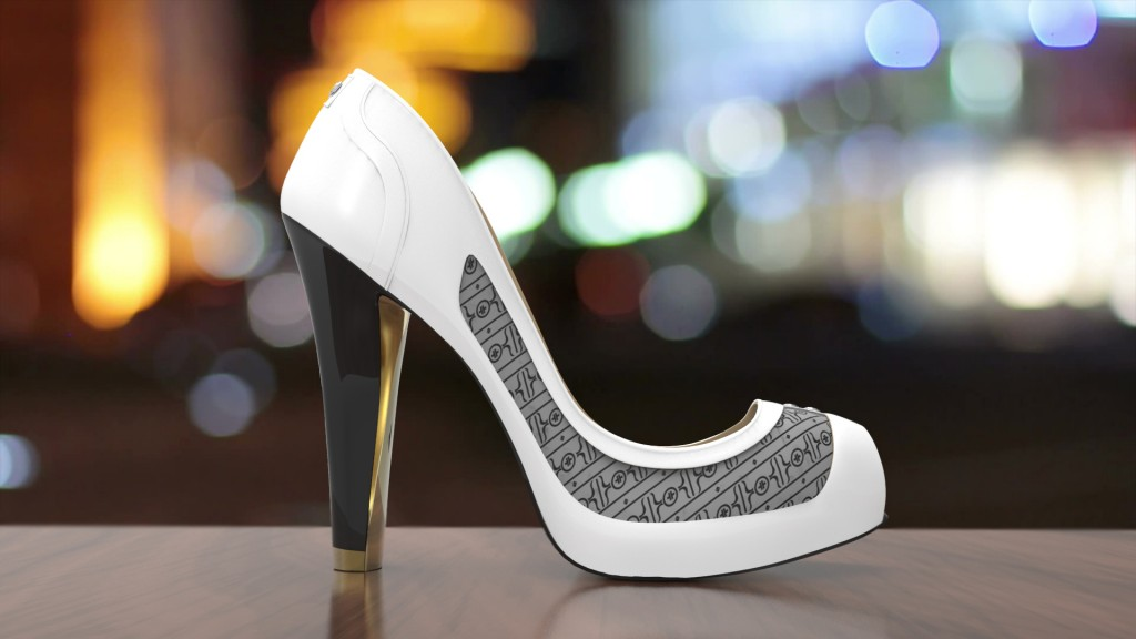 These smart high heels change to match your outfit