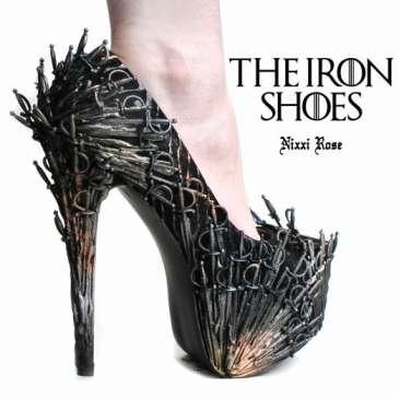Seven geeky high heels