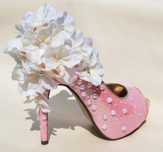 White Queen high heels