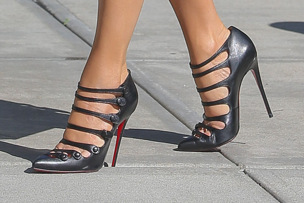 High heels rank amongst women's most precious possesions