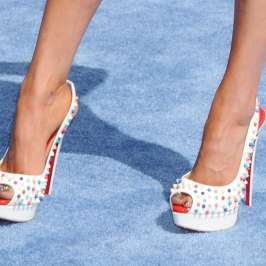 The top celebrities in high heels at the 2015 MTV Movie Awards