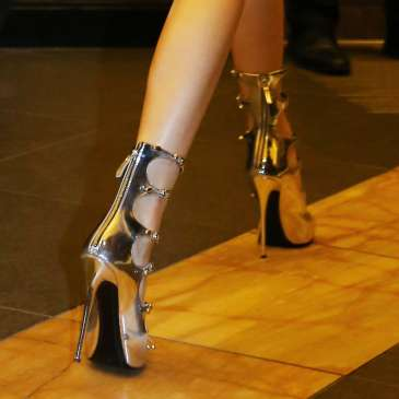 The high heels at the Cannes Film Festival