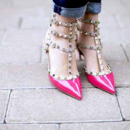Valentino's Rockstud high heels are becoming a lasting trend