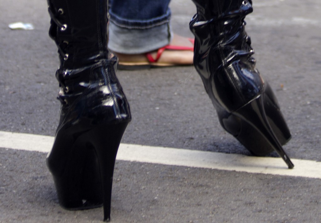 Surprise! High heels can be healthy...up to a point