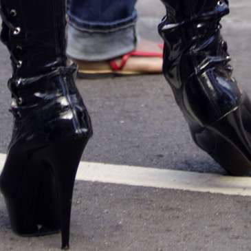 Surprise! High heels can be healthy…up to a point