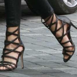Carolinna Espinosa Sari Gladiator Heels become a favorite of celebrities