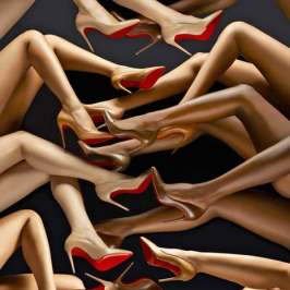 "Christian Louboutin thinks he's making ""useless work"""