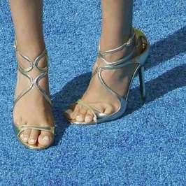 The top celebrities in high heels at the 2015 Teen Choice Awards