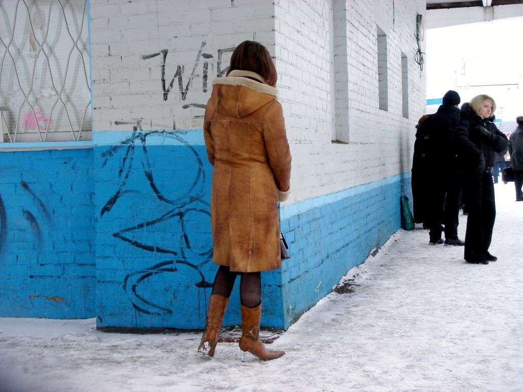 How to protect your high heels from the snow