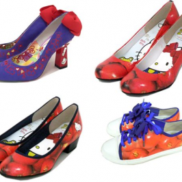 Hello Kitty high heels want to call your inner geek