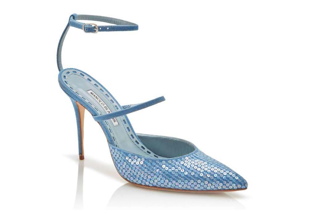 Rihanna and Manolo Blahnik's high heels