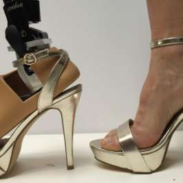 Students develop prosthetic foot for high heels