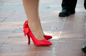 How to make high heels fit better