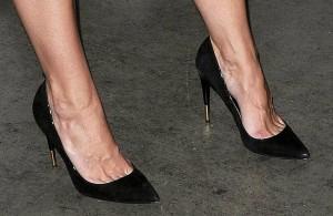 Katie Holmes in high heels