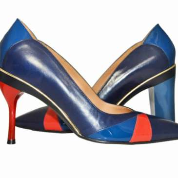 Tanya Heath makes shoes with interchangable heels