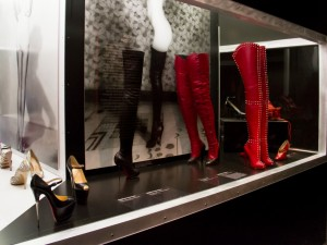 Christian Louboutin shoes in Killer Heels exhibition in Brooklyn Museum