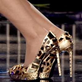 Top 10 celebrities in high heels for November 2014