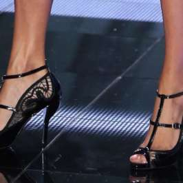Check out the awesome high heels at the Victoria's Secret Fashion Show