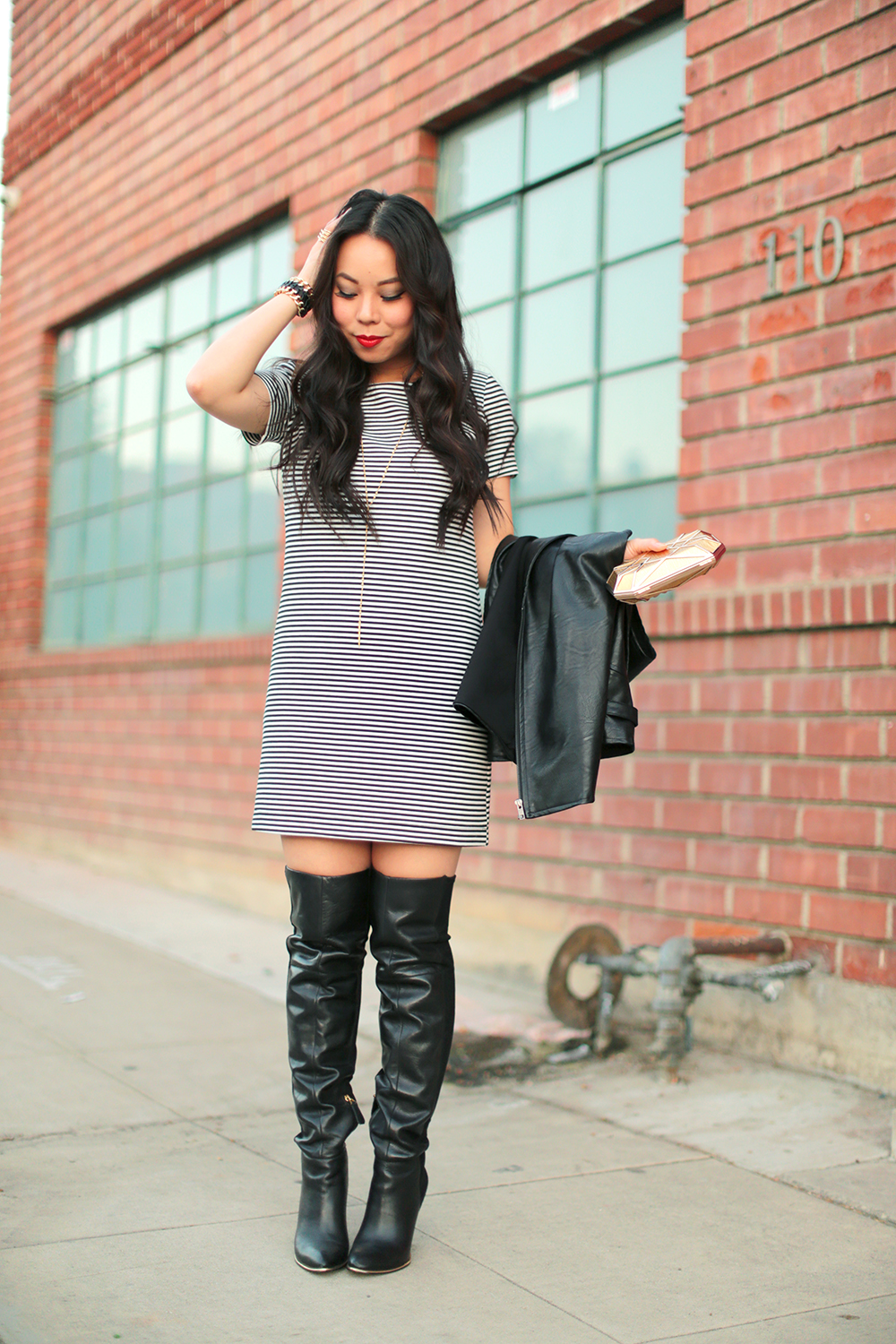 How to wear over the knee boots casually - GlamorousHeels.com