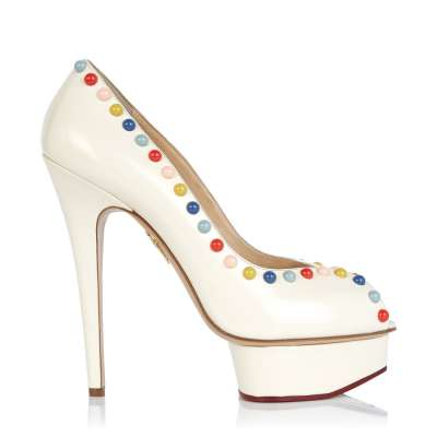 Yet another club high heel from Charlotte Olympia
