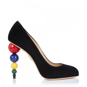 Charlotte Olympia pre-fall 2015 high heels collection looks to the art