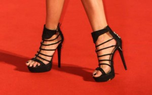 The top celebrities in high heels for december 2014