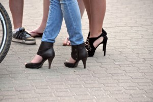 Doctor says it's a myth high heels are bad for you