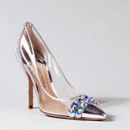 Top designers create Cinderella's glass slippers