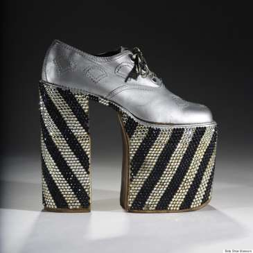 New museum exhibition shows the history of high heels for men