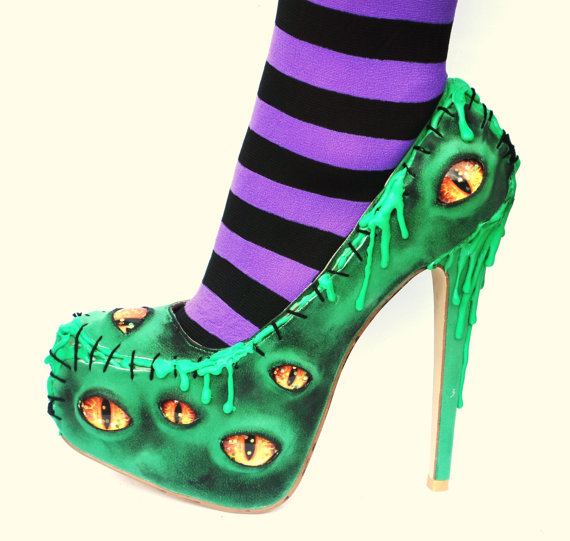 Halloween high heels