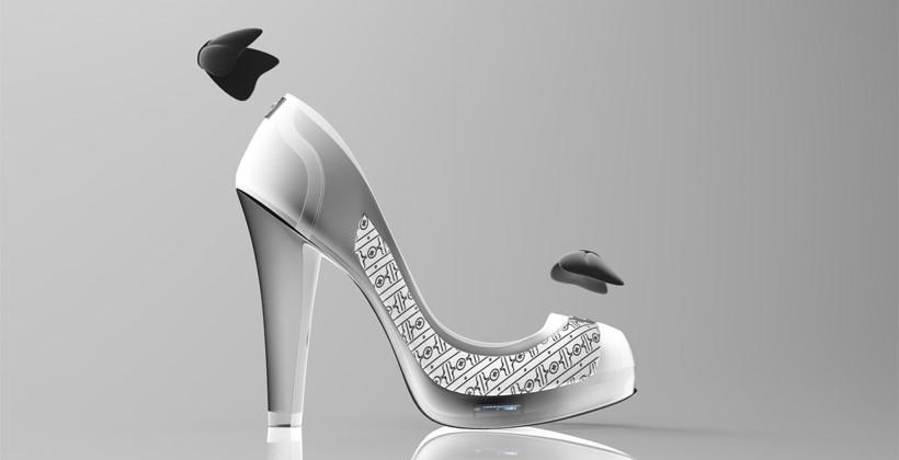 Volvorii Timeless e-ink high heels