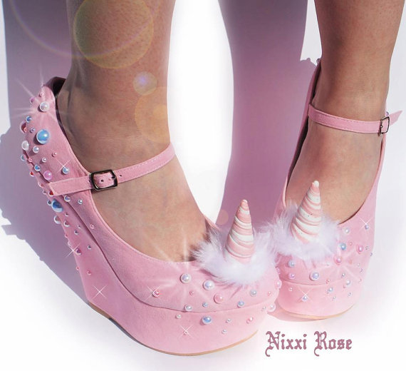 Unicorn wedges