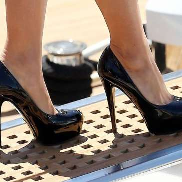 The celebrities in high heels for May 2015