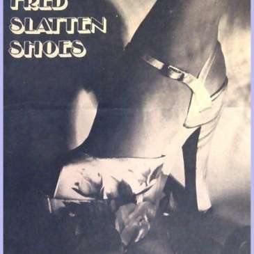 Fred Slatten, the king of crazy high heels, passed away