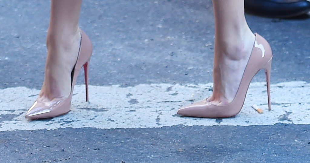 The best celebrities in high heels for June 2015