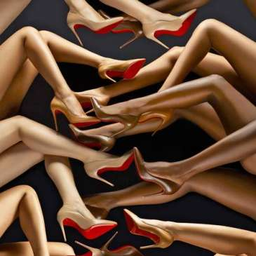 High heels are in a downfall due to lack of knowledge and practice