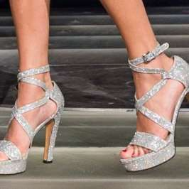 Five ways to wear ankle strapped high heels
