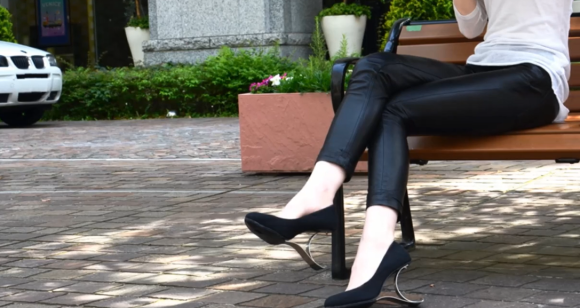 Japanese designer creates new type of high heels