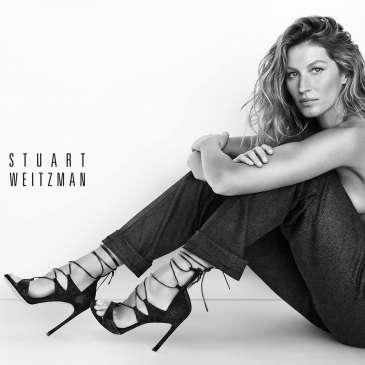 Check out Gisele Bundchen's photoshoot for Stuart Weitzman